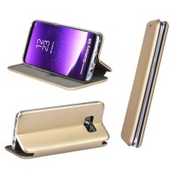 Maciņš Book Elegance Samsung G930 S7 gold