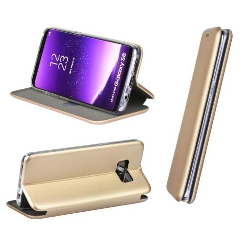 Maciņš Book Elegance Samsung A105 A10 gold