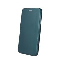 Maciņš Book Elegance Samsung A41 A415 dark green