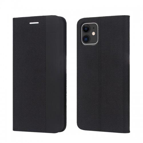 Maciņš Smart Senso Apple iPhone 12 Pro Max black