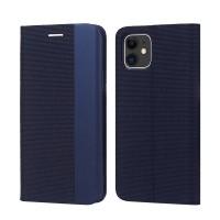 Maciņš Smart Senso Apple iPhone 12 Pro Max dark blue