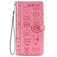 Maciņš Cat-Dog Samsung A41 A415 rose