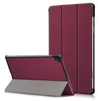 Maciņš Smart Leather Samsung T500/T505 Tab A7 10.4 2020 bordo