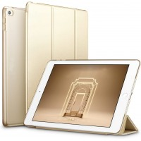 Maciņš Smart Leather Samsung P610/P615 Tab S6 Lite 10.4 gold