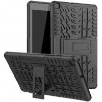 Maciņš Shock-Absorption Samsung T500/T505 Tab A7 10.4 2020 black