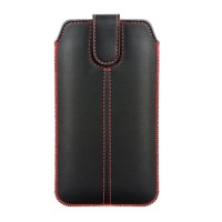 Maciņš Forcell Ultra Slim M4 iPhone X/XS/11 Pro/Samsung A40/S10e black