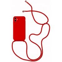 Maciņš Strap Silicone Maciņš Apple iPhone 12 mini red