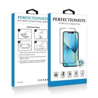 Stikla ekrāna aizsargs 5D Perfectionists Samsung A405 A40 curved black