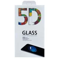 Stikla ekrāna aizsargs 5D Full Glue Samsung G988 S20 Ultra/S11 Plus curved black with hole