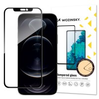 Stikla ekrāna aizsargs Wozinsky 5D maciņš-friendly Samsung A525 A52/A526 A52 5G/A528 A52s 5G black