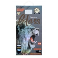 Stikla ekrāna aizsargs 9D Full Glue Huawei P40 Lite E/Y7 P black