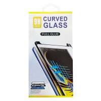 Stikla ekrāna aizsargs 9D Curved Full Glue Huawei P40 Pro black