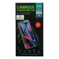 Stikla ekrāna aizsargs 5D Luminous Apple iPhone 6/6S/7/8/SE2