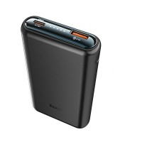 Ārējais akumulators Power Bank Hoco Q1 Type-C PD 20W+Quick Charge 3.0 (3A) 10000mAh black