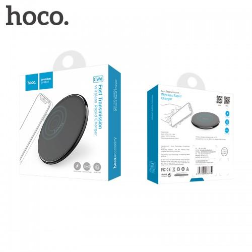 Wireless lādētājs Hoco CW6 (5W) black