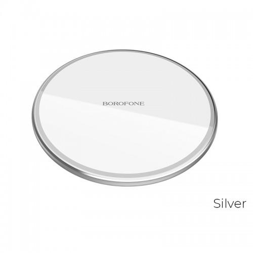 Wireless lādētājs Borofone BQ3 (10W) silver