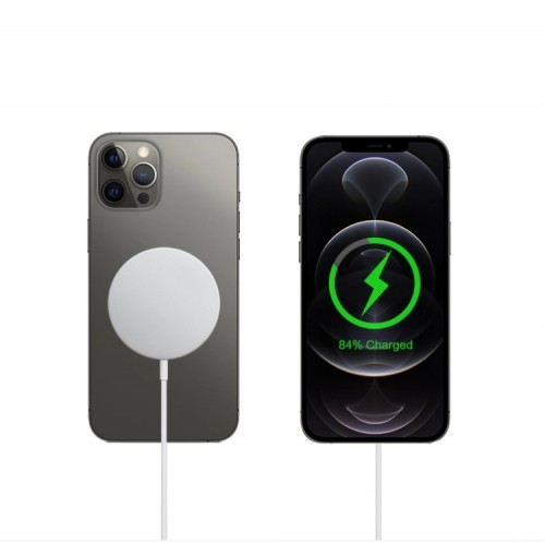 Wireless lādētājs MagSafe white