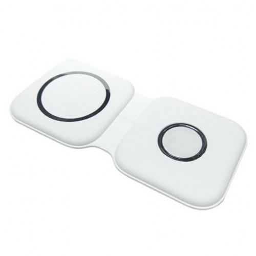 Wireless charging 2in1 Smart Phone, Watch white