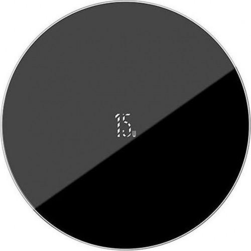 Wireless lādētājs Baseus Simple Type-C (15W) black WXJK-B01